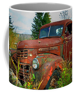 Coffee Mug featuring the photograph General Motors Truck by Alana Ranney