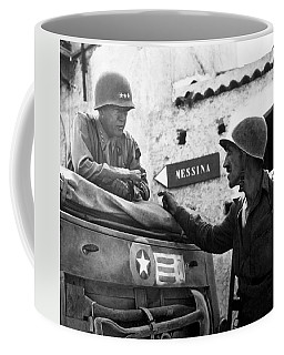 General Patton In Sicily Coffee Mug