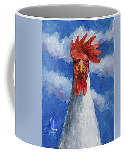 Coffee Mug featuring the painting General Tso by Billie Colson