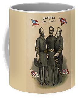 Generals Jackson Beauregard And Lee Coffee Mug