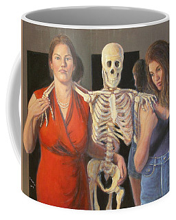 Coffee Mug featuring the painting Generations #2 by Donelli  DiMaria