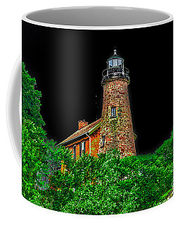 Genesee Lighthouse Coffee Mug by William Norton