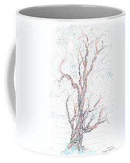 Genetic Branches Coffee Mug by Regina Valluzzi