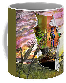Coffee Mug featuring the digital art Genetically Modified by Darren Cannell