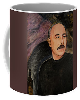 Genie In The Bottle Coffee Mug by Ron Richard Baviello