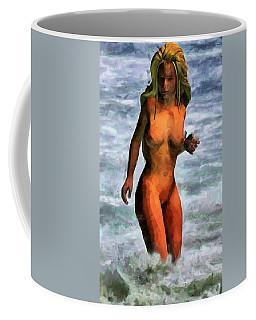 Genie Jumping Waves Coffee Mug