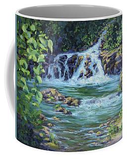 Gentle Falls Coffee Mug by Karen Ilari