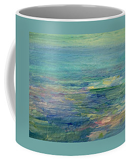 Gentle Light On The Water Coffee Mug