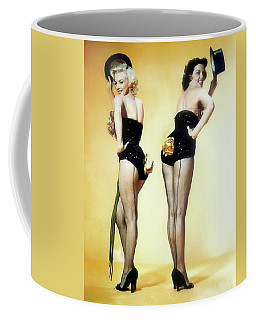 Coffee Mug featuring the painting Gentlemen Prefer Blondes by R Muirhead Art