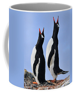 Gentoo Love Song Coffee Mug