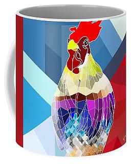 Geo Doodle Doo Coffee Mug