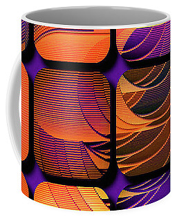 Coffee Mug featuring the digital art Geo Electric by Susan Maxwell Schmidt