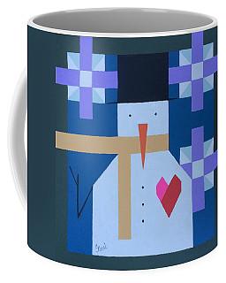 Geo Snowman Coffee Mug