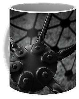 Coffee Mug featuring the photograph Geodome Climber 2 by Richard Rizzo