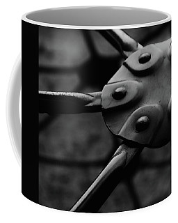 Coffee Mug featuring the photograph Geodome Climber by Richard Rizzo