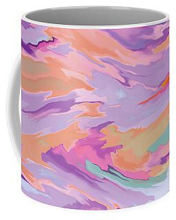 Geometric Abstract Diptych Part 1 Coffee Mug