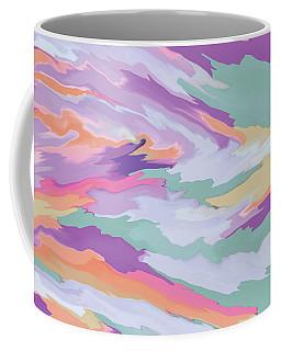 Geometric Abstract Diptych Part 2 Coffee Mug