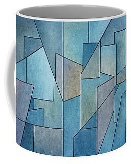 Coffee Mug featuring the digital art Geometric Abstraction IIi by David Gordon