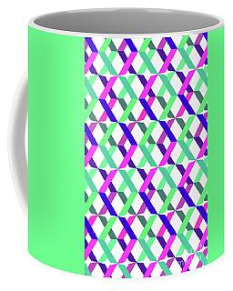 Geometric Crosses Coffee Mug