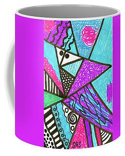 Geometric Interior Coffee Mug by Susan Schanerman