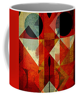 Geomix-04 - 39c3at22g Coffee Mug by Variance Collections