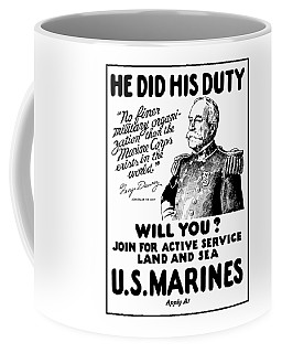 George Dewey - Us Marines Recruiting Coffee Mug