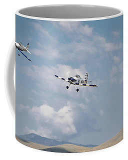George Ford And Matt Beaubien In Friday Morning's Sport Class 16x9 Aspect Coffee Mug