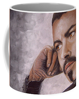 George Michael Careless Whisper Coffee Mug