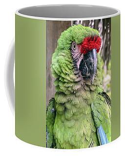 George The Parrot Coffee Mug