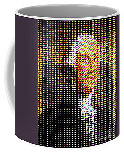 George Washington In Dots  Coffee Mug