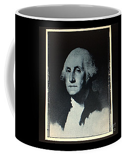 Coffee Mug featuring the photograph George Washington by Richard W Linford