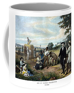 George Washington The Farmer Coffee Mug