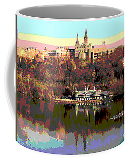 Georgetown University Crew Team Coffee Mug