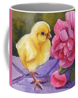 Georgia And The Rose Coffee Mug by Janet  Zeh