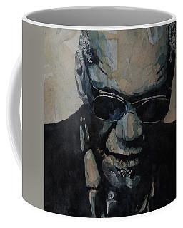 Georgia On My Mind - Ray Charles  Coffee Mug by Paul Lovering