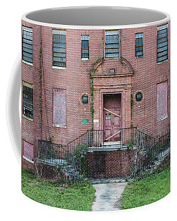 Coffee Mug featuring the photograph Georgia State Hospital by Kim Hojnacki