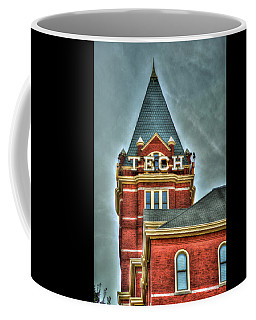 Georgia Tech Tower 8 Georgia Institute Of Technology Art Coffee Mug