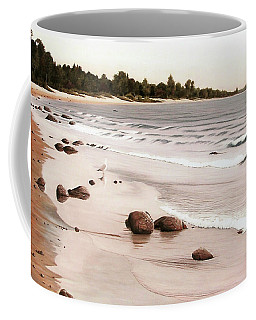 Georgian Bay Beach Coffee Mug by Kenneth M  Kirsch