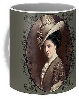 Coffee Mug featuring the digital art Geraldine Farrar by Robert G Kernodle