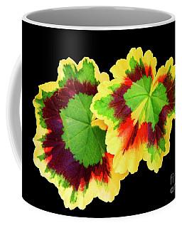 Geranium Leaves Coffee Mug by Mariarosa Rockefeller
