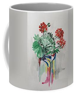 Geraniums Coffee Mug by Rita Fetisov