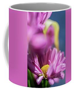 Gerber Daisy In Purple Coffee Mug