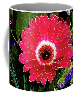 Gerbera Bella Coffee Mug by Mariola Bitner