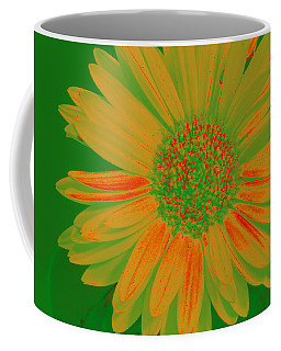 Coffee Mug featuring the photograph Gerbia Daisy Sabattier by Bill Barber