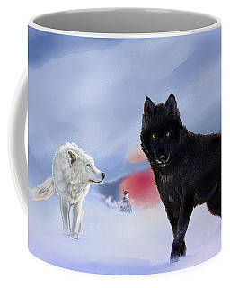 Geri And Freki Coffee Mug