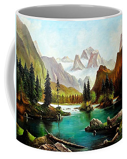 German Alps Coffee Mug