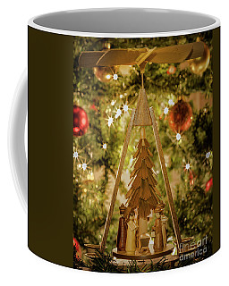 German Christmas Pyramid Coffee Mug