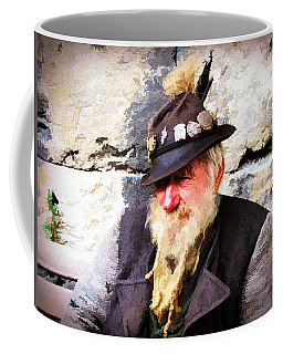 German Gentleman - Watercolor Coffee Mug