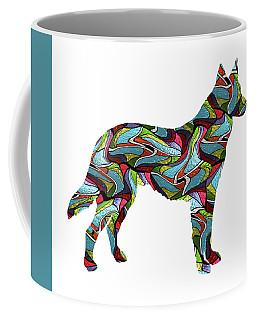German Sheperd Spirit Glass Coffee Mug