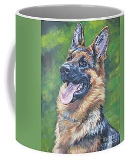 German Shepherd Head Study Coffee Mug